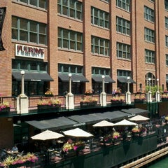Photo taken at Fulton's on the River by Heather M. on 6/20/2012