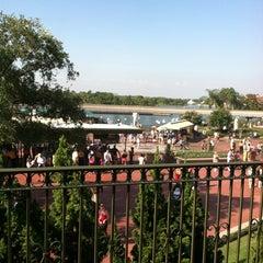 Photo taken at Walt Disney World Railroad - Main Street Station by LS T. on 5/27/2012