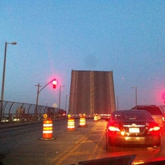 Photo taken at John Byrne-Greenpoint Avenue Bridge by Paul F. on 8/3/2012