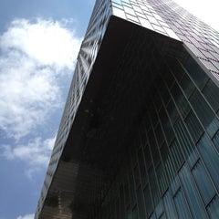 Photo taken at Meliá Barcelona Sky by Alexandre O. on 7/21/2012