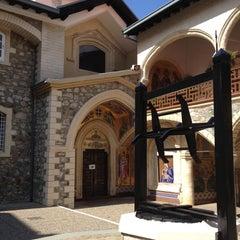 Photo taken at Kykkos Monastery by Nick on 6/13/2012