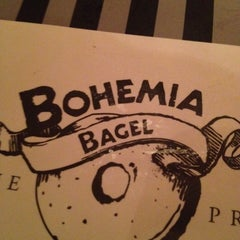 Photo taken at Bohemia Bagel by Pavel B. on 4/4/2012
