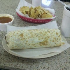 Photo taken at Taco Burrito King by Mike B. on 3/28/2012