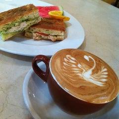 Photo taken at Caffé Calabria by glenda c. on 8/14/2012