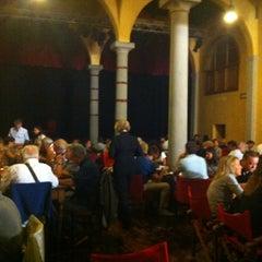 Photo taken at Il Teatro del Sale by Alejandra on 9/1/2012