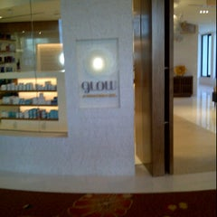 Photo taken at Glow Spa, Tropicana Las Vegas by Margo M. on 1/26/2012