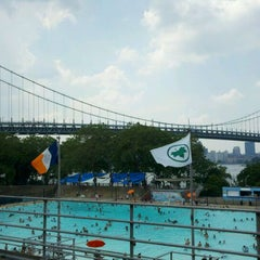 Photo taken at Astoria Park Pool by Louis S. on 7/6/2011