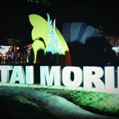Photo taken at Pantai Morib by Zamir S. on 6/4/2012