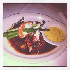 Photo taken at Chicago Prime Steakhouse by Courtney B. on 2/1/2012
