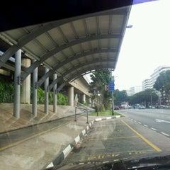 Photo taken at Khatib MRT Station (NS14) by Leon B. on 10/22/2011