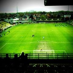 Photo taken at Herman Vanderpoortenstadion | Het Lisp by Erik B. on 4/21/2012