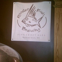 Photo taken at Rooster Fish Brewing by Dev on 7/15/2012