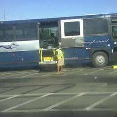 Photo taken at Greyhound Terminal by Undividedattn -. on 10/15/2011