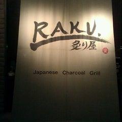 Photo taken at Raku by Bryant D. on 11/27/2011
