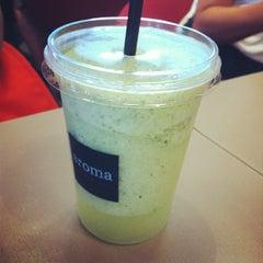 Photo taken at Aroma Espresso by HanBi K. on 7/8/2012