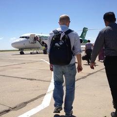 Photo taken at Saparmurat Turkmenbashi International Airport (ASB) by Sergery S. on 6/15/2012