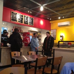Photo taken at Petey's Burger by Amadeo P. on 3/12/2012
