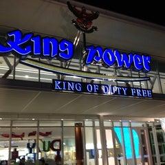 Photo taken at King Power Pattaya Complex (คิงเพาเวอร์ พัทยา คอมเพล็กซ์) by Suttinee K. on 7/22/2012