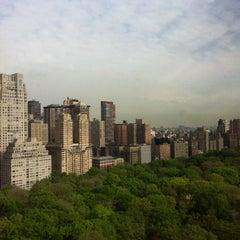 Photo taken at JW Marriott Essex House New York by Karen B. on 4/25/2012