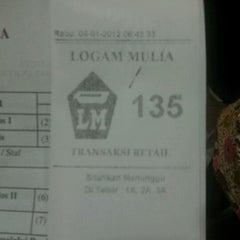 Photo taken at Logam Mulia PT Antam Tbk by Ozi C. on 1/4/2012