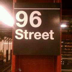 Photo taken at MTA Subway - 96th St (1/2/3) by Janice N. on 10/4/2011