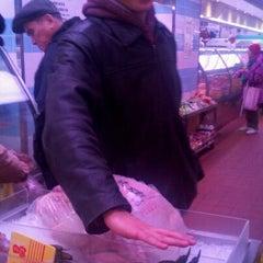Photo taken at Bayard Meat Market by Tiff L. on 12/24/2011