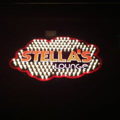 Photo taken at Stella's Lounge by Katy on 3/11/2012
