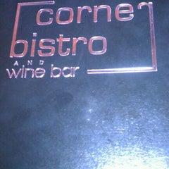 Photo taken at Corner Bistro & Wine Bar by S.D. M. on 1/16/2012