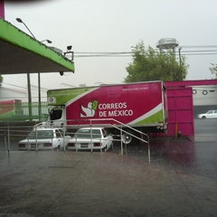 Photo taken at Correos de México by Jesus A. on 4/17/2012