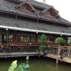 Photo taken at บ้านชานกรุง (Baan Chan Krung) by Adisorn C. on 3/29/2012
