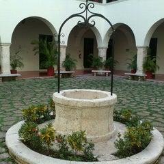 Photo taken at UADY (Edificio Central) by Eduardo E. on 1/28/2012