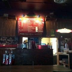 Photo taken at Hounddog's Three Degree Pizza by Ziqi H. on 10/20/2011