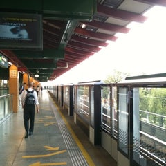 Photo taken at Lakeside MRT Station (EW26) by Dinx C. on 1/19/2011