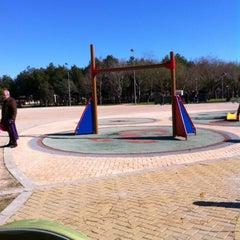 "Photo taken at Parc de ""La Canaleta"" by Maria A. on 1/29/2012"