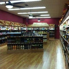 Photo taken at Wrights Corners Wine & Spirits by Shana W. on 11/12/2011