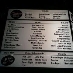 Photo taken at Cheers Shot Bar by Jaime C. on 11/19/2011