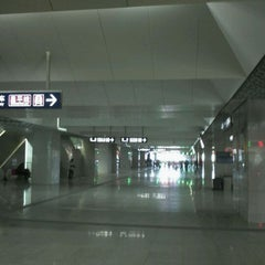 Photo taken at 地铁西二旗站 Subway Xi'erqi by Jon C. on 2/7/2012