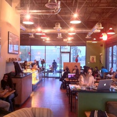 Photo taken at Echo Coffee by Chris T. on 1/16/2012