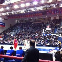 Photo taken at ПБК ЦСКА / PBC CSKA by Yuri D. on 2/22/2012