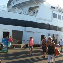 Photo taken at Steamship Authority - Woods Hole Terminal by Jeremy on 9/2/2012