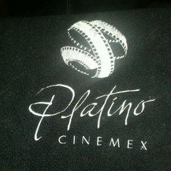 Photo taken at Cinemex Platino by Daniel M. on 5/4/2012