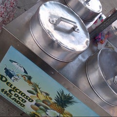Photo taken at Delicioso Coco Helado by R L. on 8/13/2012