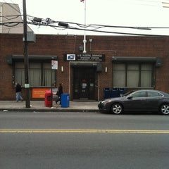 Photo taken at US Post Office - Steinway Station by Derrick Y. on 4/1/2012