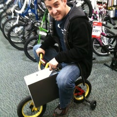 Photo taken at Sports Authority by Kim C. on 11/12/2011