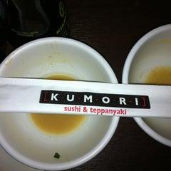 Photo taken at Kumori Sushi & Teppanyaki by Sarah A. on 3/16/2012