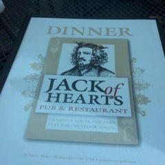 Photo taken at Jack of Hearts Pub & Restaurant by Laura B. on 5/4/2012
