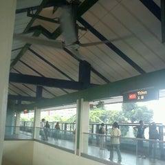 Photo taken at Yishun MRT Station (NS13) by Azizul Haizum Rahmat on 6/28/2012