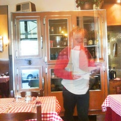 Photo taken at Trattoria Da Enzo by Christoph P. on 9/5/2012