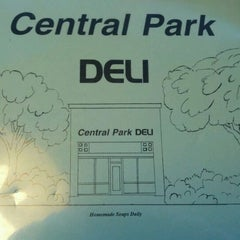 Photo taken at Central Park Deli by Chuck C. on 11/26/2011