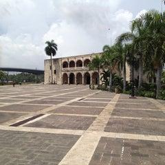 Photo taken at Plaza España by Denis S. on 7/21/2012